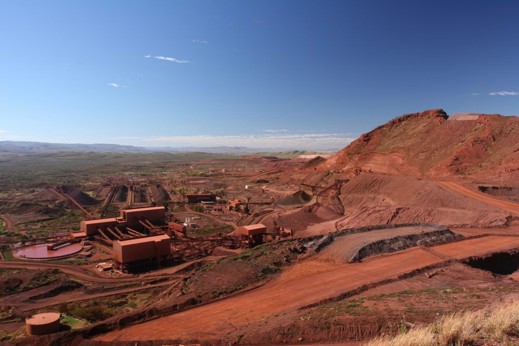 Iron ore mine management system