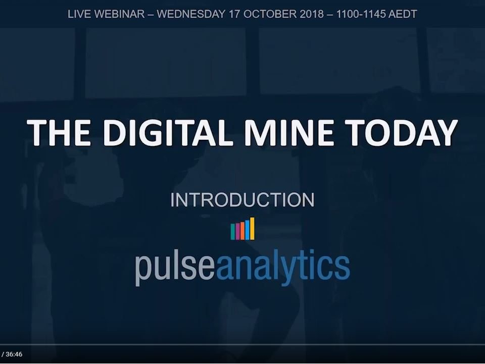 Pulse Analytics webinar video