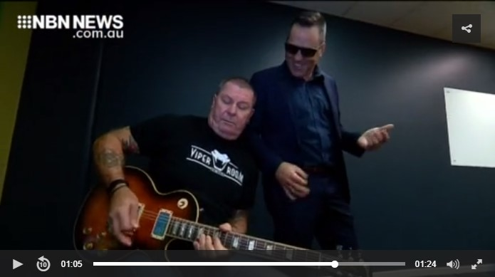NBN News 21 August 2019 - Ash Bosworth (Pulse) with Dai Pritchard (Rose Tattoo)